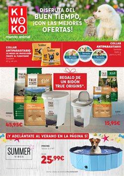 Ofertas de Kiwoko  en el folleto de San Cristobal de la Laguna (Tenerife)