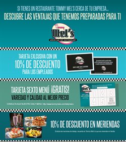 Ofertas de Tommy Mel's  en el folleto de Madrid