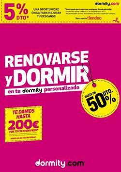 Ofertas de Dormity  en el folleto de Barcelona