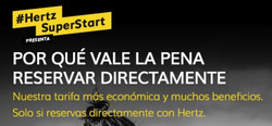 Ofertas de Hertz  en el folleto de Chiclana de la Frontera