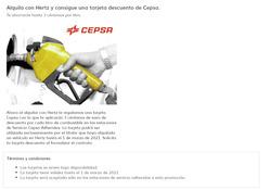 Cupón Hertz en Santiago de Compostela ( Más de un mes )