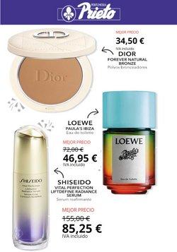 Ofertas de Loewe en el catálogo de Perfumería Prieto ( Caduca hoy)