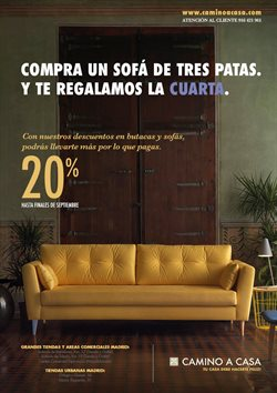 Ofertas de Camino a casa  en el folleto de Madrid