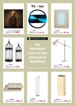 Ofertas de Marco de fotos  en el folleto de Camino a casa en Madrid