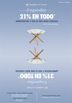 Ofertas de Hogar y muebles  en el folleto de Camino a casa en Alcalá de Henares