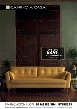 Ofertas de Sofás  en el folleto de Camino a casa en Madrid