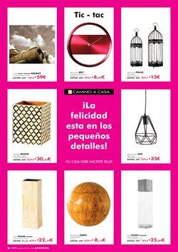 Ofertas de Lámpara de techo  en el folleto de Camino a casa en Madrid