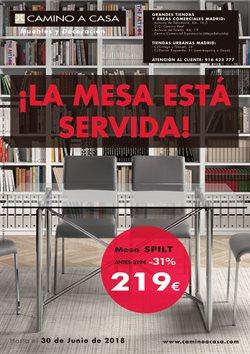 Ofertas de Hogar y muebles  en el folleto de Camino a casa en Madrid
