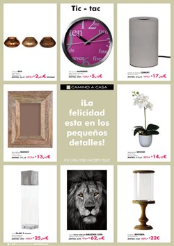 Ofertas de Portavelas  en el folleto de Camino a casa en Leganés