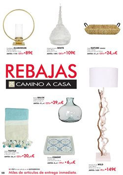 Ofertas de Lámpara de pie  en el folleto de Camino a casa en Madrid