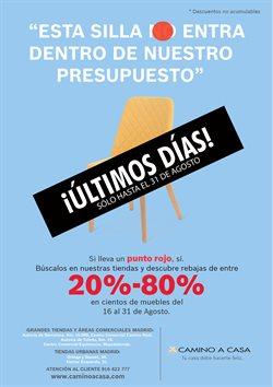 Ofertas de Hogar y muebles  en el folleto de Camino a casa en Valladolid