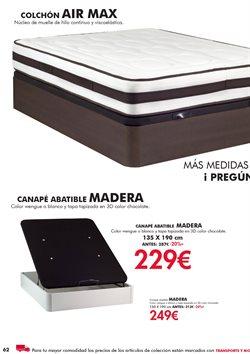 Ofertas de Canapé abatible  en el folleto de Camino a casa en Madrid