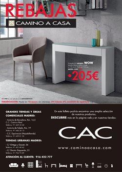 Ofertas de Mesa  en el folleto de Camino a casa en Madrid