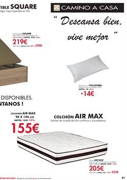 Ofertas de Colchones  en el folleto de Camino a casa en Alcalá de Henares