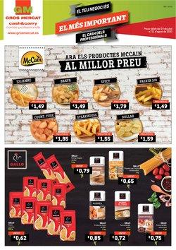 Catálogo Gros Mercat en Barcelona ( 5 días más )