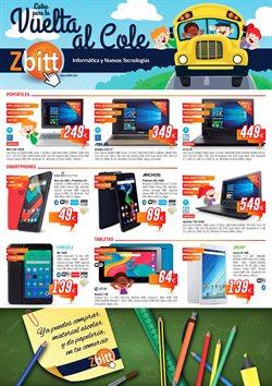 Ofertas de Informática y electrónica  en el folleto de Zbitt en Oviedo