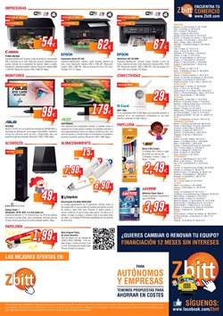 Ofertas de Acer  en el folleto de Zbitt en Bilbao