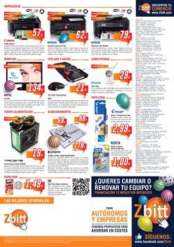Ofertas de Canon  en el folleto de Zbitt en Madrid