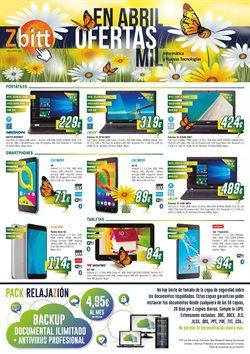 Ofertas de Informática y electrónica  en el folleto de Zbitt en Madrid