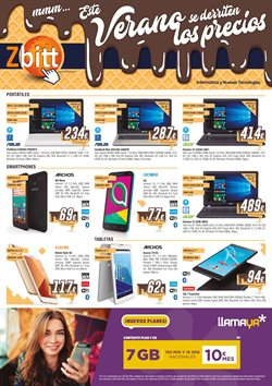 Ofertas de Smartphones  en el folleto de Zbitt en Madrid