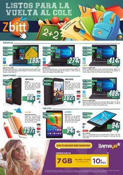 Ofertas de Informática y electrónica  en el folleto de Zbitt en San Sebastián de los Reyes