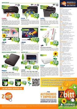 Ofertas de Disco duro externo  en el folleto de Zbitt en Madrid