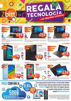 Ofertas de Informática y electrónica  en el folleto de Zbitt en Palencia