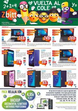 Ofertas de Informática y electrónica  en el folleto de Zbitt en Aspe