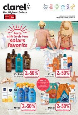 Ofertas de Hiper-Supermercados en el catálogo de Clarel ( Caduca mañana)