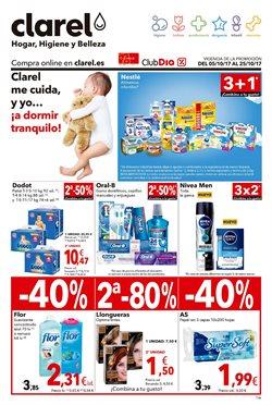 Ofertas de Perfumerías y belleza  en el folleto de Clarel en Murcia