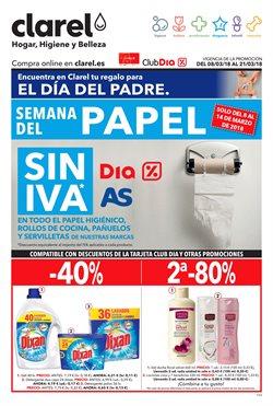 Ofertas de Perfumerías y belleza  en el folleto de Clarel en A Coruña