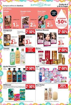 Ofertas de Maquillaje  en el folleto de Clarel en Palamos