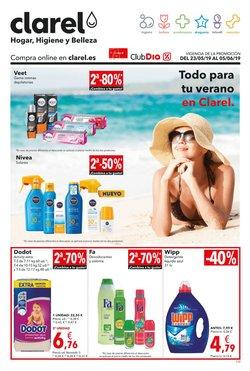 Ofertas de Perfumerías y belleza  en el folleto de Clarel en Figueres
