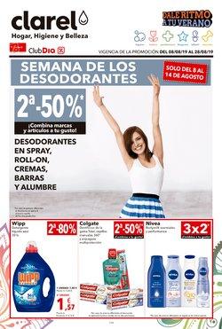 Ofertas de Perfumerías y belleza  en el folleto de Clarel en Cerdanyola del Vallès