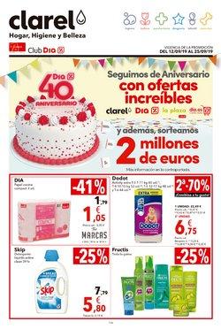 Ofertas de Perfumerías y belleza  en el folleto de Clarel en Tudela