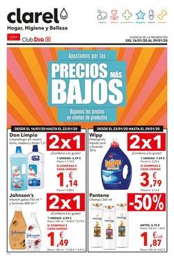Ofertas de Perfumerías y Belleza  en el folleto de Clarel en Santa Maria de Palautordera