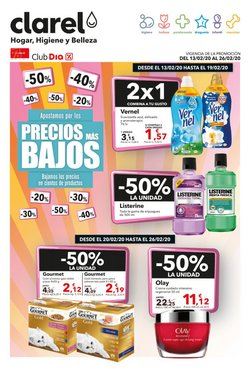 Ofertas de Perfumerías y Belleza en el catálogo de Clarel en Alaquàs ( 2 días publicado )