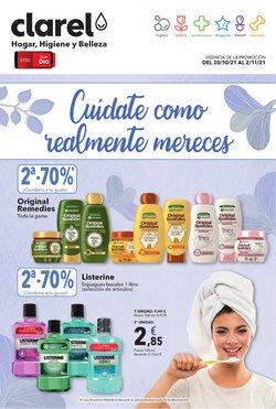 Ofertas de Perfumerías y Belleza en el catálogo de Clarel ( 10 días más)