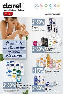 Ofertas de Perfumerías y Belleza en el catálogo de Clarel ( 5 días más)