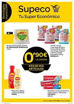 Ofertas de Supeco  en el folleto de Málaga