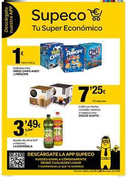 Ofertas de Aceite de oliva  en el folleto de Supeco en Madrid
