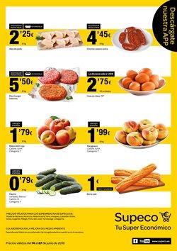 Ofertas de Hamburguesas  en el folleto de Supeco en Getafe