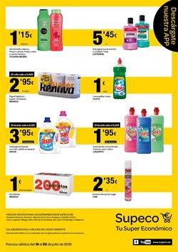 Ofertas de Detergente  en el folleto de Supeco en Madrid