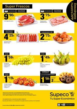 Ofertas de Picado, salsicha y hamburguesa  en el folleto de Supeco en Madrid