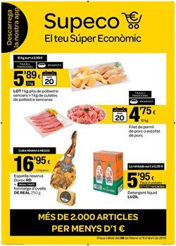 Ofertas de Hiper-Supermercados  en el folleto de Supeco en Sant Joan Despí