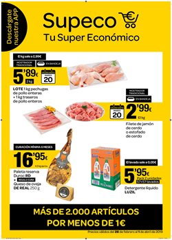 Ofertas de Supeco  en el folleto de Madrid