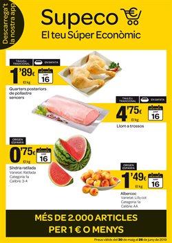 Ofertas de Hiper-Supermercados  en el folleto de Supeco en Sant Cugat del Vallès
