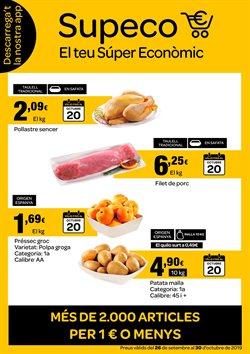 Ofertas de Hiper-Supermercados  en el folleto de Supeco en Vic