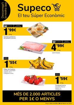 Ofertas de Hiper-Supermercados en el catálogo de Supeco en Maçanet de la Selva ( 8 días más )