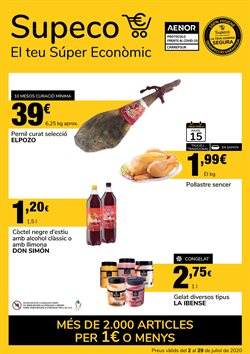 Ofertas de Hiper-Supermercados en el catálogo de Supeco en Garriga ( 21 días más )